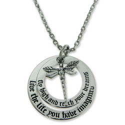 Dragonfly Dream Sterling Silver Pendant