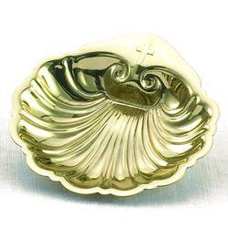 24KT Gold-Plated Baptismal Shell