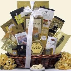 Premium Gourmet Thank You Gift Basket