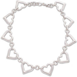 Hearts Together Anklet