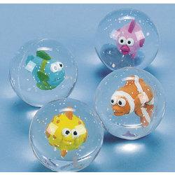 Tropical Fish Bouncing Balls
