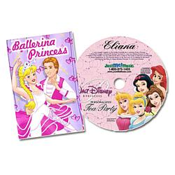 Personalized Princess CD and Book Gift Set