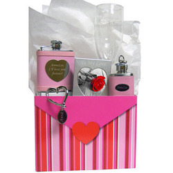 Valentine's Day Personalized 'I Heart You' Gift Set