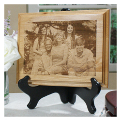 Personalized Photo Wood Plaque