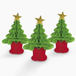 Christmas Tree Tabletopper Set