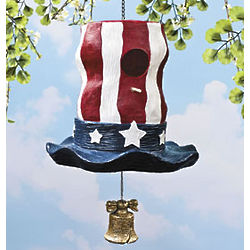 Uncle Sam Hat Birdhouse