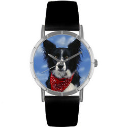 Border Collie Print Watch