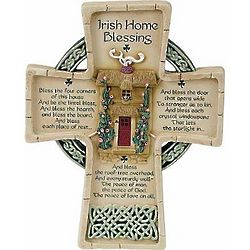Irish Home Blessings Celtic Cross