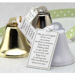 Reception Wedding Bell Favors