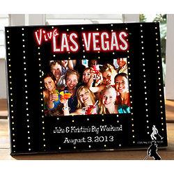 Elvis Viva Las Vegas Personalized Frame