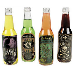 Halloween Drink Bottle Label Set