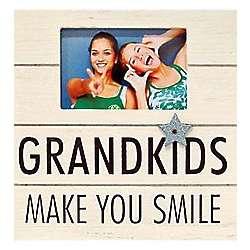 Grandkids Make You Smile Frame