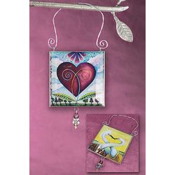 Love Entwined 2-Sided Ornament
