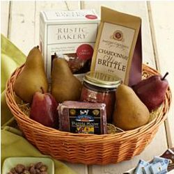 Best with Wine Meat and Cheese Gift Basket