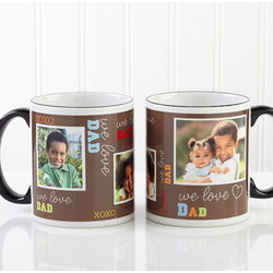 Personalized Love Themed Photo Coffee Mug