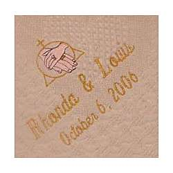 Blessed Union Personalized Wedding Afghan