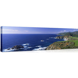 Big Sur Panorama on Canvas