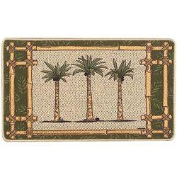 Oasis Three Palm Mat