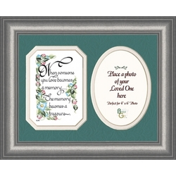 'When Someone You Love' Photo Frame and Message