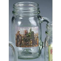 John Deere Lunchtime Drinking Jar