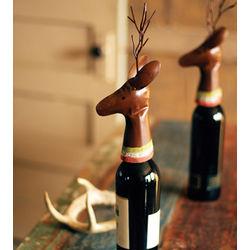 Reindeer Wine Bottle Cover