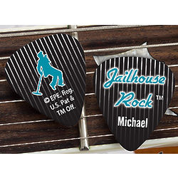 Elvis Jailhouse Rock Personalized Guitar Picks