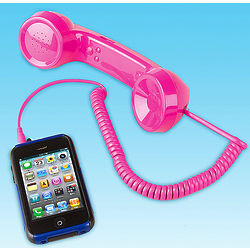 Pink IPhone Handset