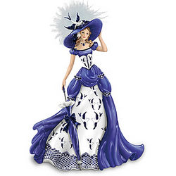 Rowena Blue Willow Pattern Figurine