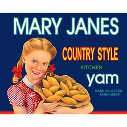 Mary's Yam Personalized Print