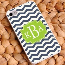 Personalized Chevron iPhone Case Set