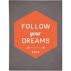 Personalized Follow Your Dreams Wall Art