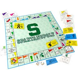 Michigan State Spartans Spartanopoly Board Game