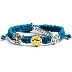 Kids Turquoise Blue Benedictine Bracelet