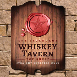 Legendary Whiskey Tavern Sign