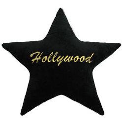 Hollywood Star Plush Pillow