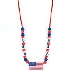 USA Beaded Necklace Craft Kit