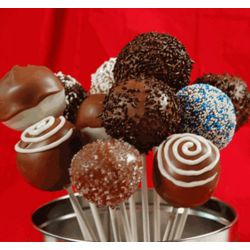 One Dozen Classic Designs Cake Pops