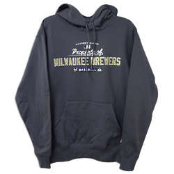 Men's Therma Base Milwaukee Brewers Hooded Fleece