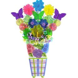 Hydrangea Blooms Lollipop Bouquet