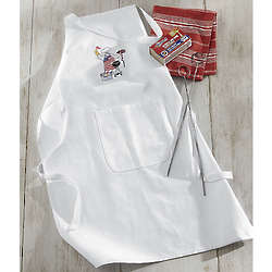 Patriotic Barbecue Apron