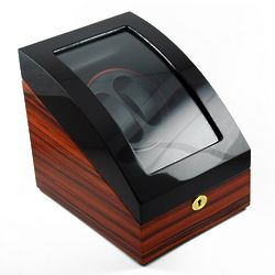 Two Toned Single Rotor Dual Watch Winder