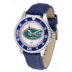 NCAA Competitor Poly Leather Band Watch