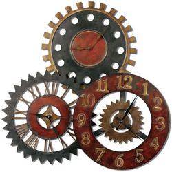 Rustic 3-in-1 Wall Clock