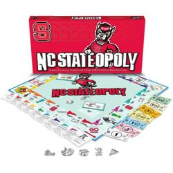 North Carolina State Wolfpack NC-Stateopoly Board Game