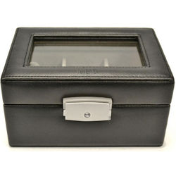 Personalized Luxury 3 Slot Watch Box