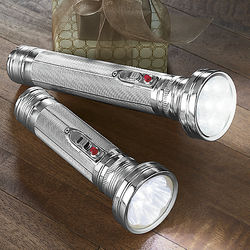 Retro Style LED Flashlight Set