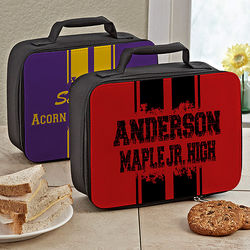 School Spirit Personalized Lunch Box