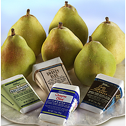 Pears and Blue Cheeses