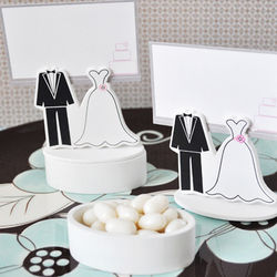 Wedding Couple Favor Box and Place Card Holders