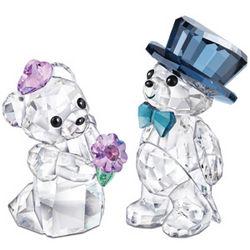 Swarovski Crystal You and I Figurines
